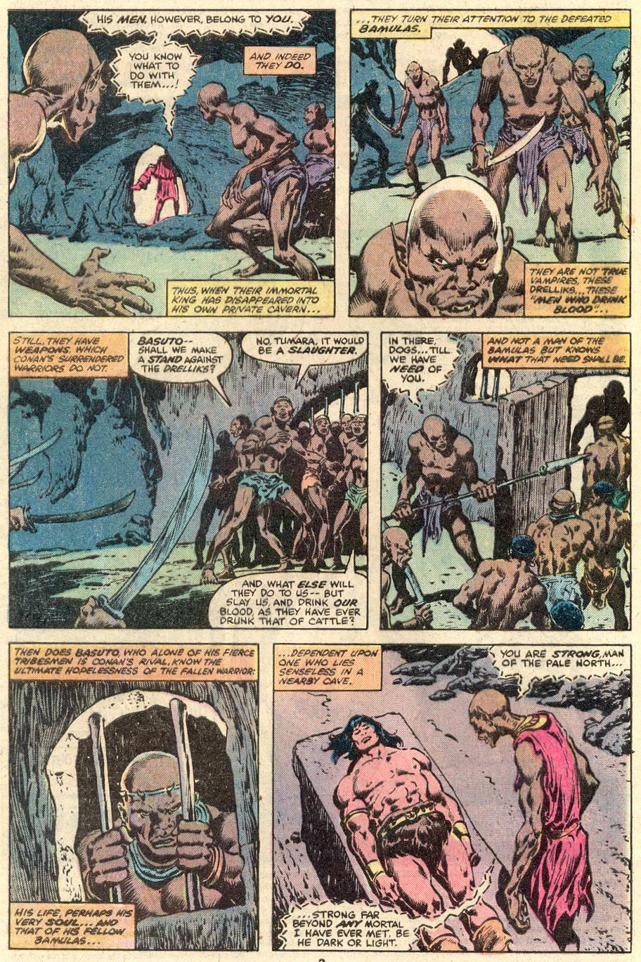 Conan the Barbarian (1970) Issue #103 #115 - English 3