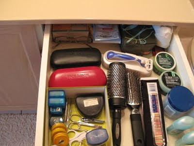 my drawer after