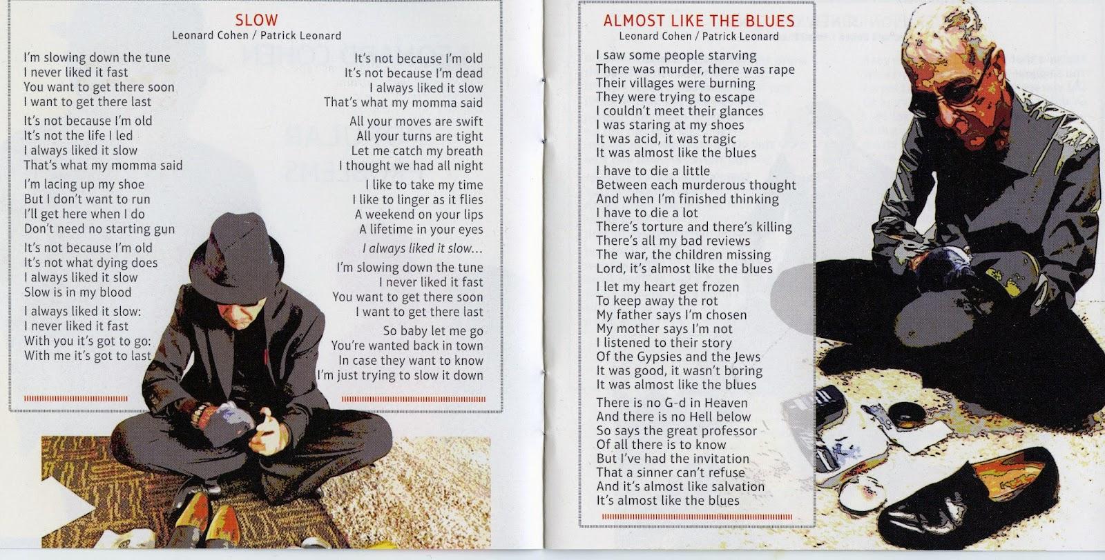 Baughs blog album review popular problems by leonard cohen polishing some lyrics stopboris Images