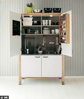 kitchenette ikea blanca