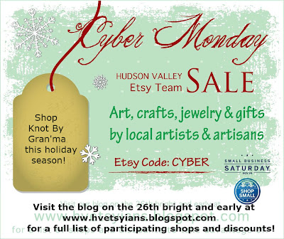 save the date! hudson valley cyber monday sale!