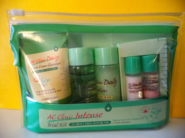 Etude House AC Clinic Intense Trial Kit Review