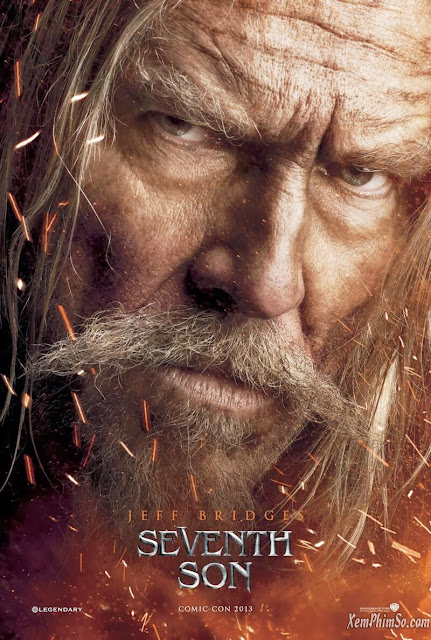 xemphimso Jeff Bridges in Seventh Son 2013 Movie Poster2 Người Con Thứ 7