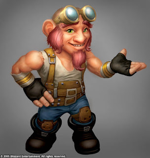 stream gnome male WoW Movie Making