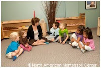 NAMC montessori classroom empowering students world events fear anxiety circle time