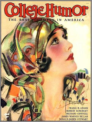 revista antigua chica años veinte