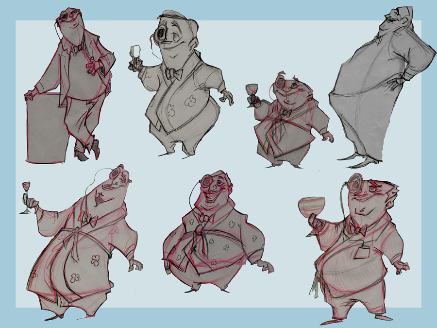 Character Design With Stephen Silver : Nash s walter chipwitter