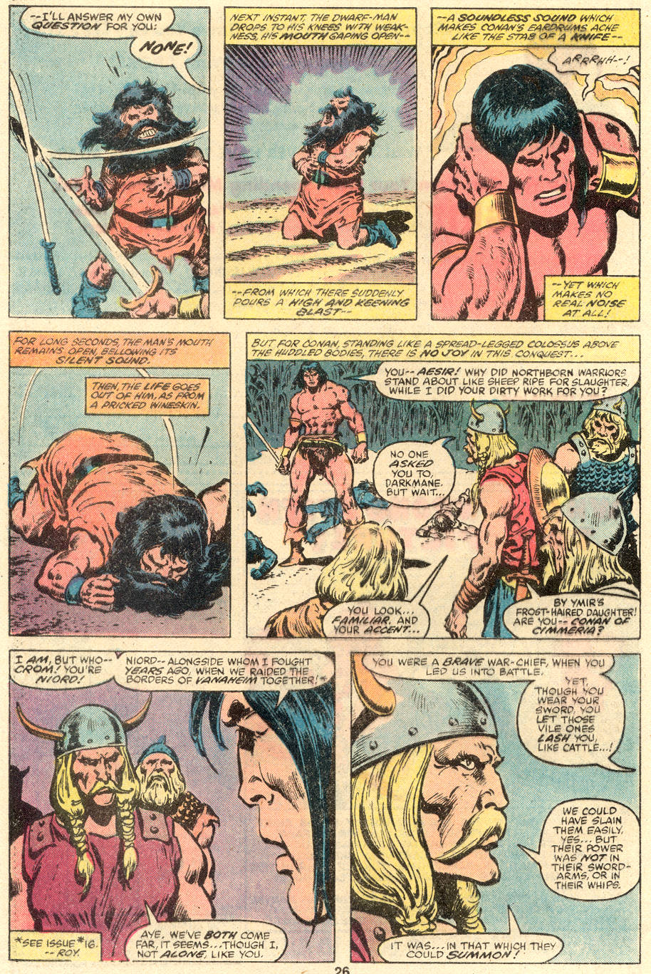 Conan the Barbarian (1970) Issue #109 #121 - English 16