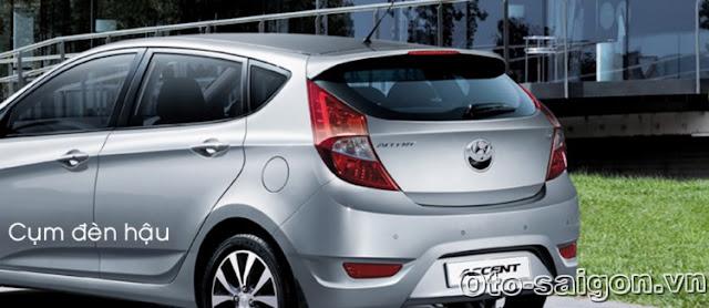 Xe Hyundai Accent Hatchback 5 cua 2014 9 Xe Hyundai Accent Hatchback 5 cửa 2014
