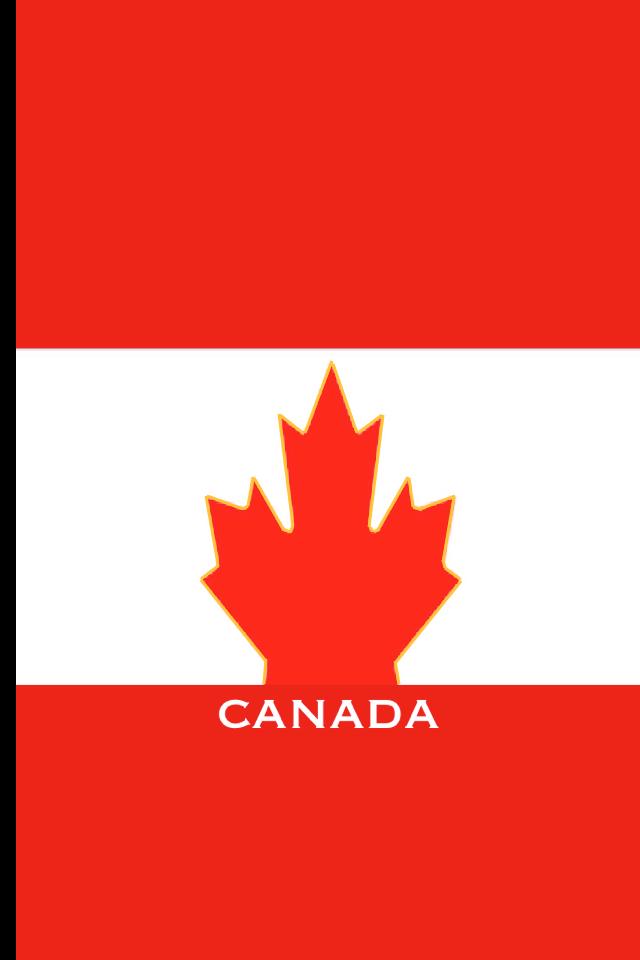 canada flag iphone wallpaper