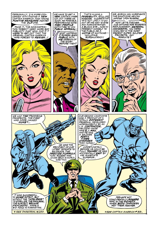 Captain America (1968) Issue #333 #262 - English 4