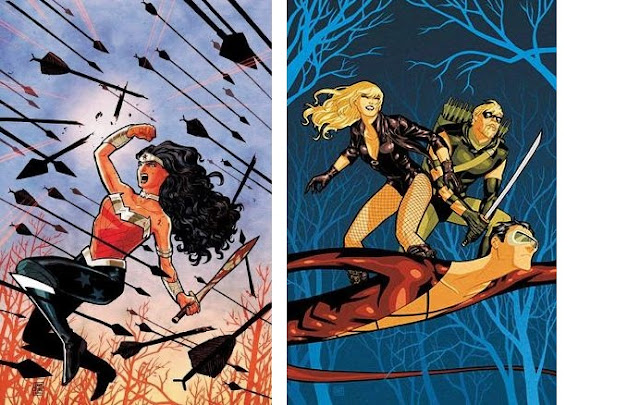 Wonder Woman #1 - Green Arrow and Black Canary #9 - 365 Days of Comics