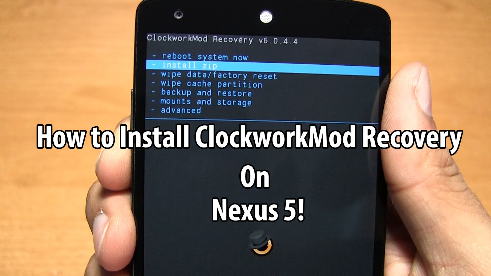 How To Install Clockworkmod Recovery On Rooted Nexus 5! ~ Androidrootz   Source For Android Rooting, Roms, Tricks And More!