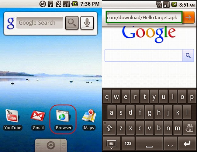 Install Mobile Spy Software on Android Phone.