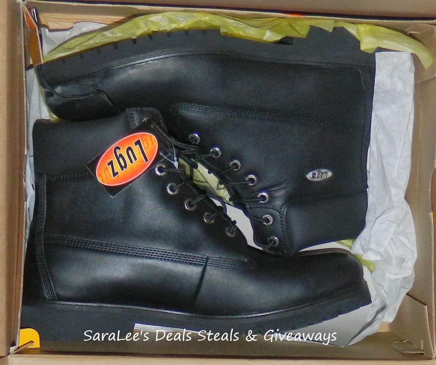 Lugz Men Drifter Boots Giveaway
