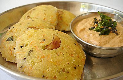 Oats Rava Idli preparation