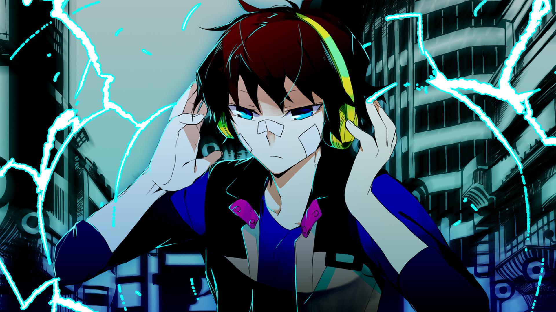 Hamatora Nice Wallpaper Nice Headphone Anime W...