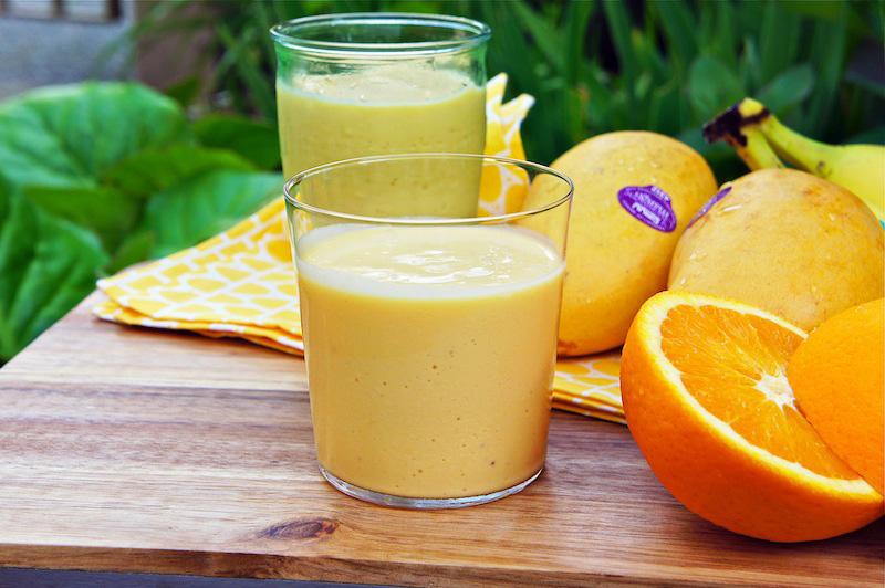 Seasaltwithfood: Mango Orange Smoothie