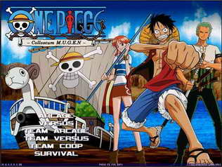 Download One Piece Colloseum M.U.G.E.N 2011 PC Game