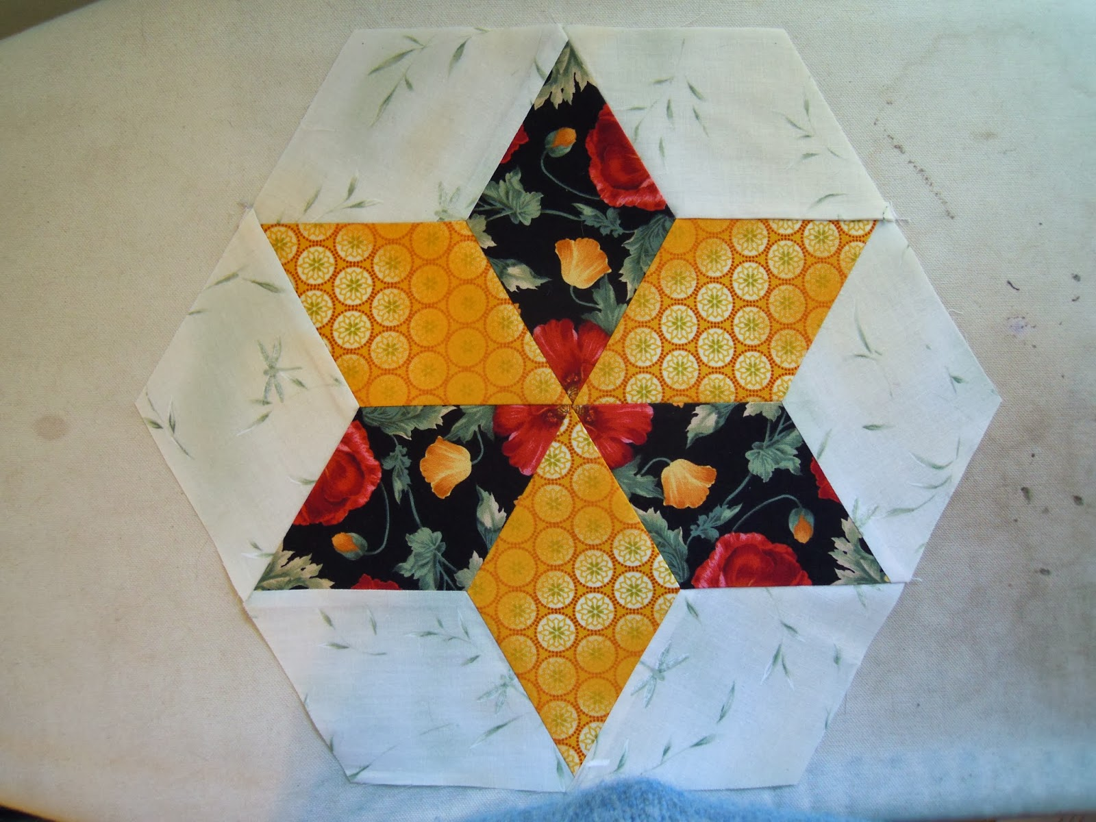Quilting through rose colored trifocals diamond star playtime for my cutting sample im using marti michells 60 degree diamond but the cutting will be the same for whichever template you choose for your blocks pronofoot35fo Choice Image