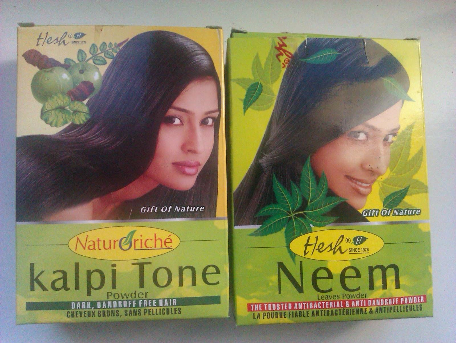 Recenzje pudrów Hesh: Kalpi Tone i Neem