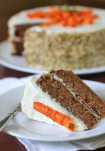 Paul Hollyood Carrot Cake