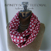 FABRIC INFINITY SCARF TUTORIAL