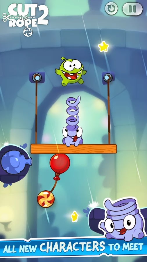 Cut the Rope 2 v1.2.9 Mod [Unlimited Money]