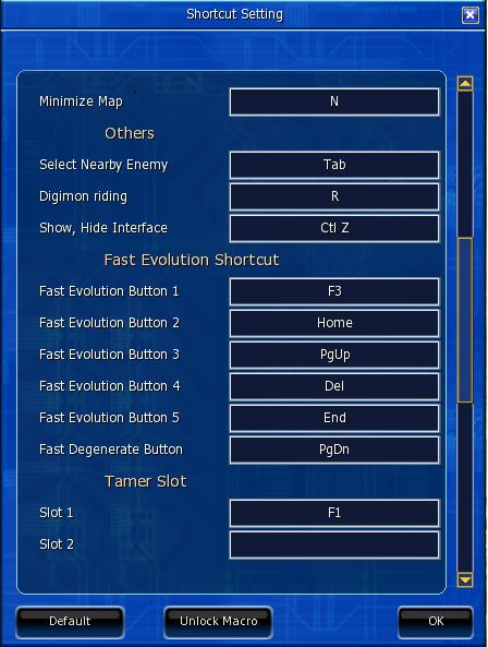 BOT DMO(Digimon Master Online)