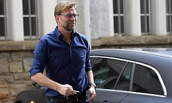 Jürgen Klopp is expected to arrive on Merseyside on Thursday to finalise terms over his move to Liverpool
