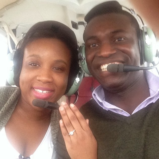 nigerian pilot proposed girlfriend
