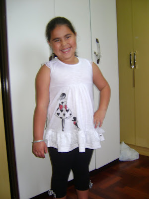 Anny - filha do Alex - diretamente do Paraná