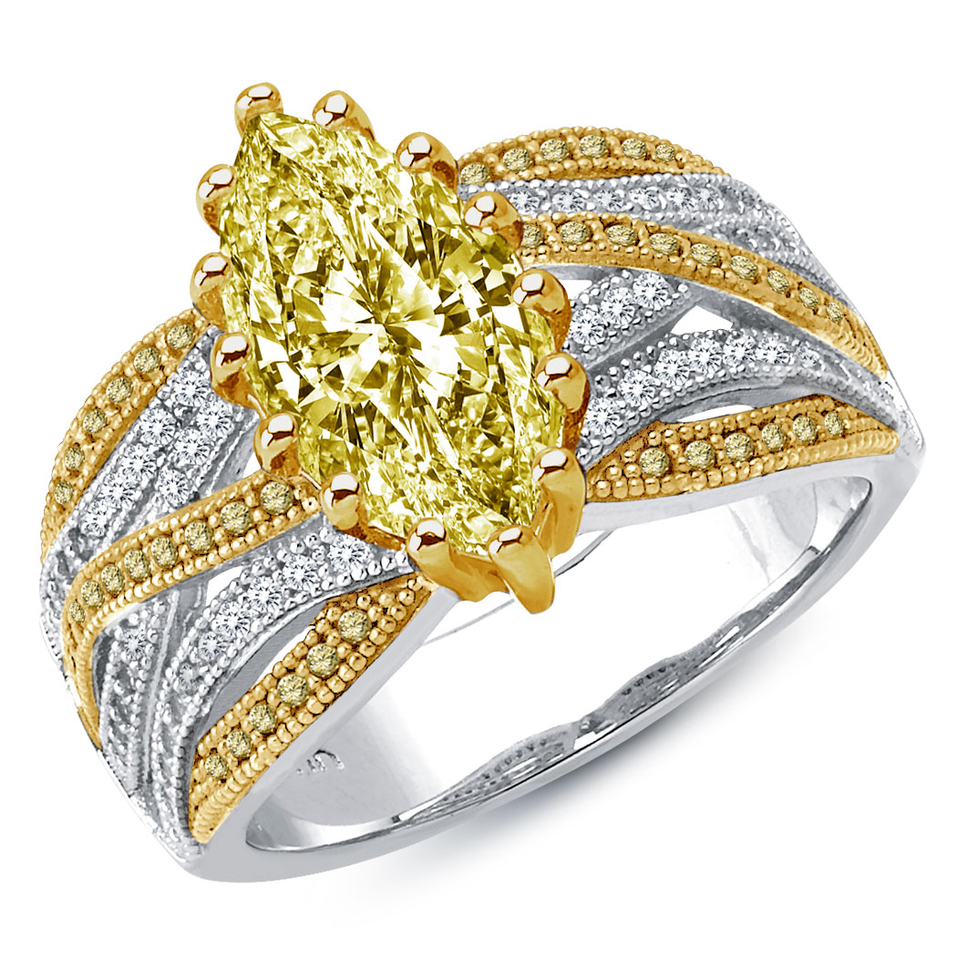 find the canary diamonds engagement rings ring review