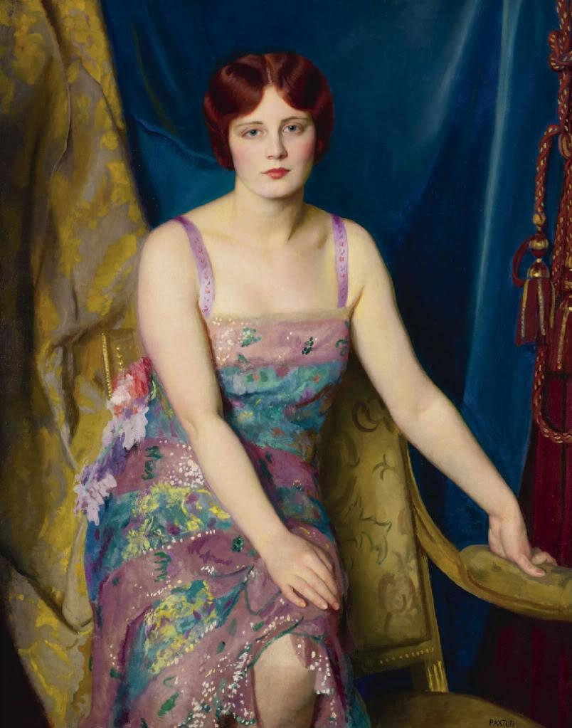 Impressionist Painter William McGregor Paxton (1869-1941