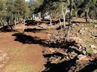 Restes del poblat medieval de les Cases Velles