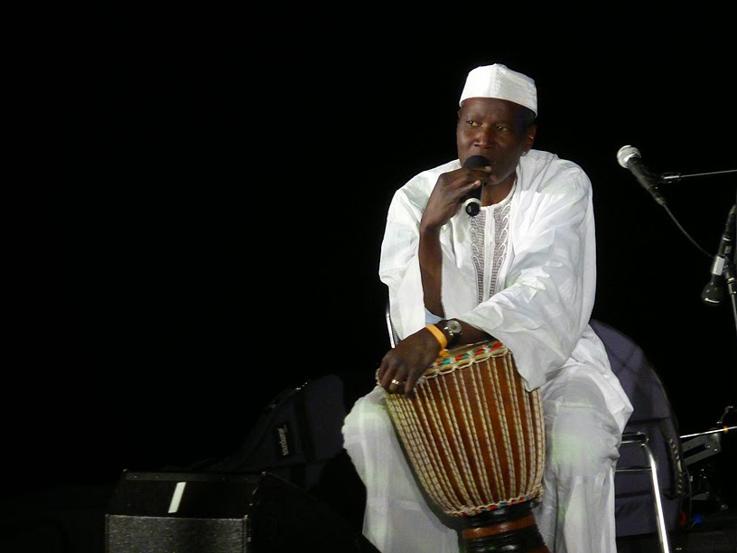 El Habib Diarra (et Ibou Ba) @ More Ohr Less Festival 2014 / photo S. Mazars
