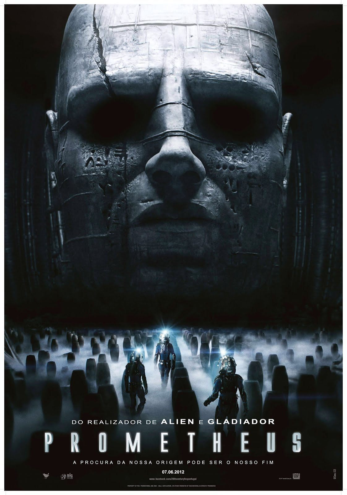 Prometheus ( 2012 ) bluray 720p Torrent Dublado