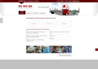 DEMOBE B. Bolick Website von Bitskin