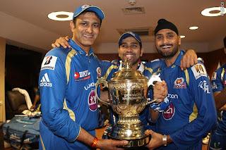Anil-Kumble-Rohit-Sharma-Harbhajan-Singh-celebrates-MI-Wining-IPL-2013