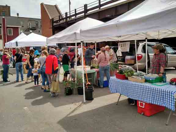 Downtown Houghton Farmer's Market