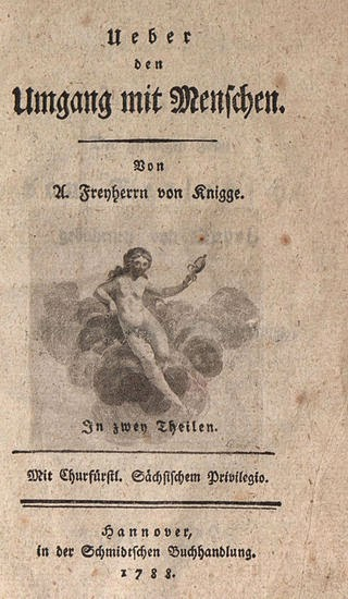 Adolph Knigge Zitate