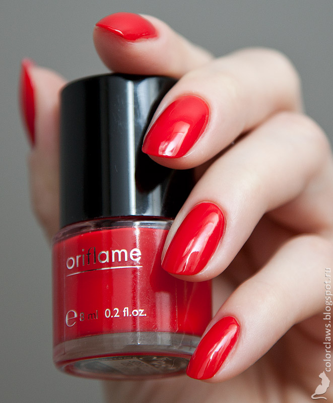 Oriflame Coral Red