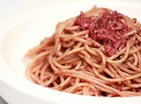 Espaguete Integral com Tapenade (vegana)