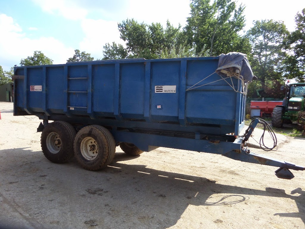 Used Tractor Trailers : Used tractors machinery and plant as marston tonne