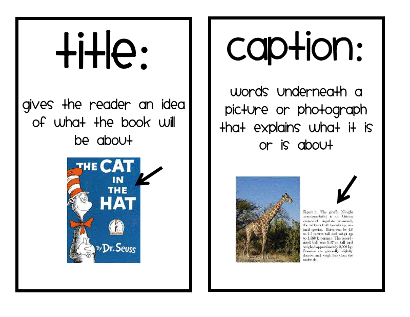 Text Features Lessons Tes Teach – Nonfiction Text Features Worksheets