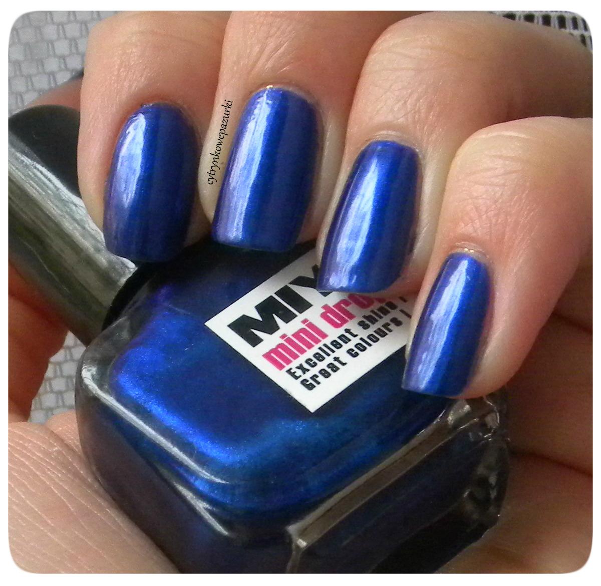 Poniedziałki z Miyo Mini Drops 151 Night Blue