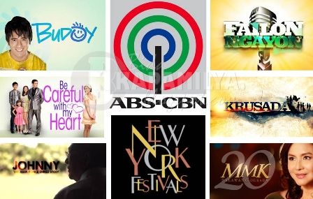 ABS-CBN Biggest PH Winner at the 2013 New York Festivals