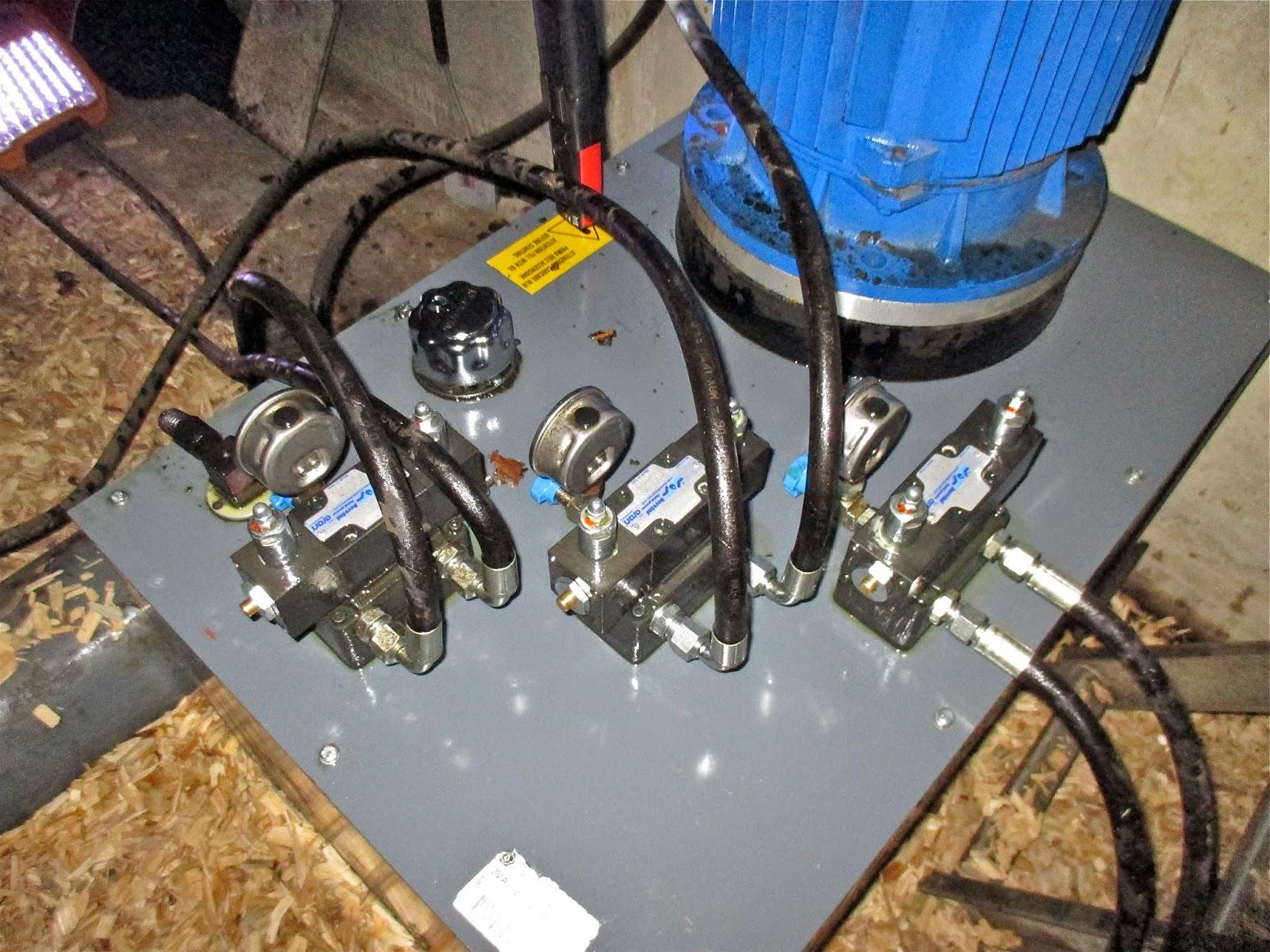 Biomass hydraulic power unit inspection - site visit