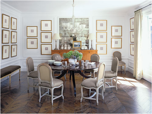 English country dining room design ideas room design for Country dining room wall art