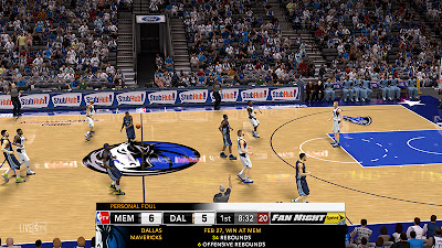 NBA 2K13 NBA TV Scoreboard Mod